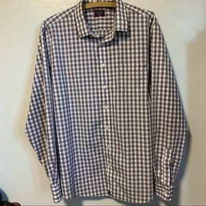 Untuckit men's XXL button down shirt long sleeve